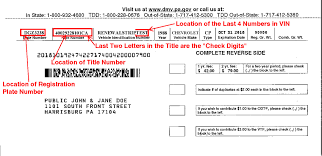 Sample Letter To Dmv Where Title Number