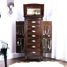 armoire Powell Jewelry Armoire With Mirror powell jewelry