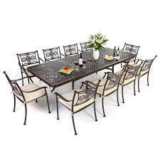 Extending Outdoor Dining Table Dining Room Tables That Seat 12 Oxford 10 Seater Wicker Rattan