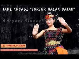 Poco poco lagu ni gondangna. Tari Tortor Halak Batak Adryani Siadari Youtube