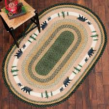 home ideas simplistic braided rug 4 5 wool round country braid house from braided rug