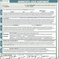 Rental Agreement Minnesota Rental Agreement 21