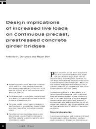 Pci Bridge Design Manual Pdf Pdf Implication Of Increased Live Loads On The Design Of