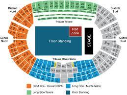 U2 Seating Chart Las Vegas Sports Events 365 U2 Rome Italy Stadio Olimpico Roma