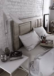 A Bedroom In Grey Tones | 3d Images