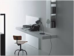 desk office ideas modern. Charming Wall Mount Office Desk For Your Design: Modern White Ideas
