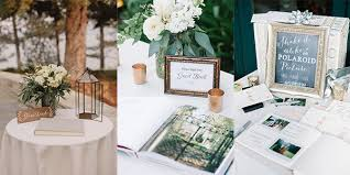 Wedding Sign In Table Decorations