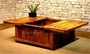 sliding coffee table fresh full size coffee table sliding top trunks with storage