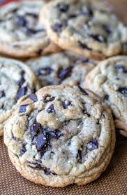 thick chocolate chip cookies recipe. Modren Chip Thick Homemade Chocolate Chip Cookies Inside Recipe