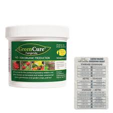 Green Cure Solutions Greencure Fungicide 8 Oz Twin Canaries Chart