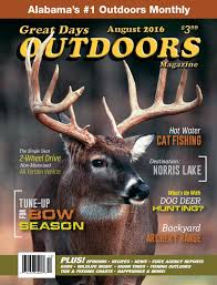 Great Days Outdoors August 2016 By Trendsouth Media Issuu