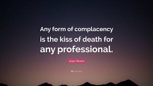 Complacency Quotes Interesting Complacency Quotes Mr Quotes