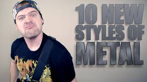 10 <b>NEW STYLES OF</b> METAL // JARED DINES - YouTube