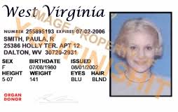 Id Virginia Card Od West