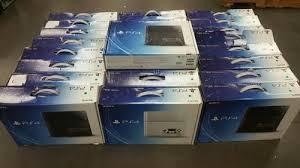 sony playstation 4 box. open box sony playstation 4 consoles box h