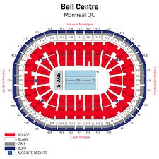 Detailed Seating Chart Bell Centre Montreal Ozzy Osbourne Montreal Tickets Ozzy Osbourne Bell Centre