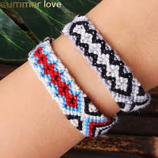 2019 Hot <b>Bohemian Thread Bracelet Retro</b> Handmade Boho ...