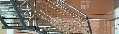 glass stairway modern office