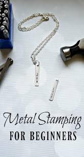 metal sting for beginners learn how to make your own custom jewelry with this step by step tutorial