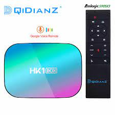HK1BOX 4GB 128GB 8K Amlogic S905X3 Smart TV BOX Android 9,0 Dual Wifi 1080P  4K youtube Set Top Box HK1 BOX PK X96AIR X3 A95XF3|Digitalempfänger