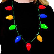 Christmas Lights Christmas Lights Necklace