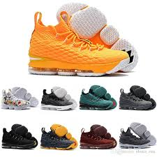 lebron mens. men women basketball shoes lebron 15 sports mens trainer comfortable sneakers new color with shoe box online $167.45/pair