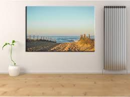 Tableau photo plage Hossegor - Decoration murale pas chère