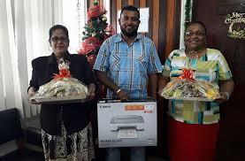 4 win 'Chronicle's Christmas Giveaway' - Guyana Chronicle