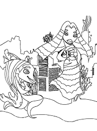 Small Picture Shark Tale Characters Lola and Angie Coloring Pages Batch Coloring