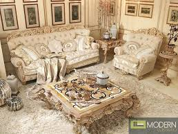 3PC Italian Luxury Style Living Room Sofa Set Bellissima $4999