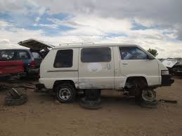 Junkyard Find: 1987 Toyota Conversion Van - The Truth About Cars