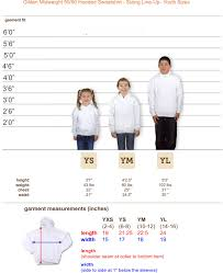 Gildan 18500 Size Chart Soft Fleece Heavy Blend Youth Pullover I Can Do All Things