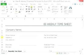 Bi Weekly Time Card Printable Bi Weekly Timesheet Template Stingerworld Co
