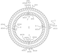 Patent us7852037 induction and switched reluctance motor drawing single phase 4 pole motor wiring diagram