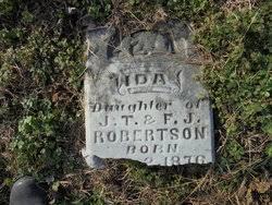 Ida Robertson (1876-Unknown) - Find A Grave Memorial