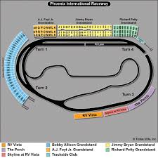 Phoenix Nascar Seating Chart Related Keywords Suggestions