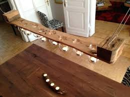 candle chandelier diy projects with old pallets photo tealight pallet wood beeswax finish covers