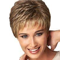 Extension Cheveux 3 Pcs Soins Perruque Stand Résistant à La Chaleur Fibre Courte Coupe De Bouclés Dégradés Couleur Perruques Mode