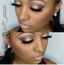 makeup brownskin flawless fleek eyeshadow eyelashes lipstick lipliner