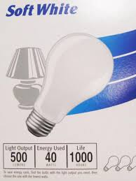 how to read a light bulb package