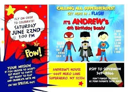 superheroes birthday party invitations superhero party invitations bezpeka home com