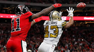 17-20 Side Falcons Win Saints Nfl New Nfc Atlanta Thriller News Orleans Home Sports Sky South