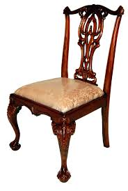 chippendale side chair. Chippendale Mahogany Dining Side Chair G