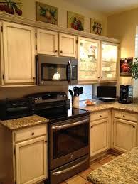 Oak Kitchen Cabinets With Slate Appliances - Kitchen ...