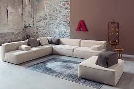 BEAUTIFUL NEUTRAL GLAM 257 FLOOR SOFA