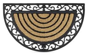 full size of large size of medium size of exterior entrance mats half round doormat outdoor pink welcome