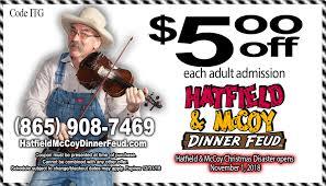 hatfield mccoy dinner show coupon