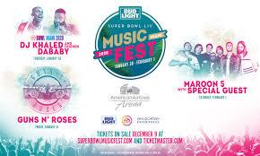 Bud Light Super Bowl Music Festival Bud Light Super Bowl Music Fest Returns With The Biggest