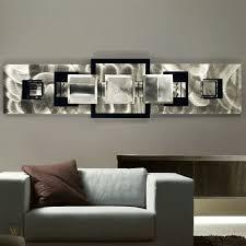 large modern abstract metal wall art