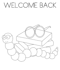 welcome coloring pages for kids